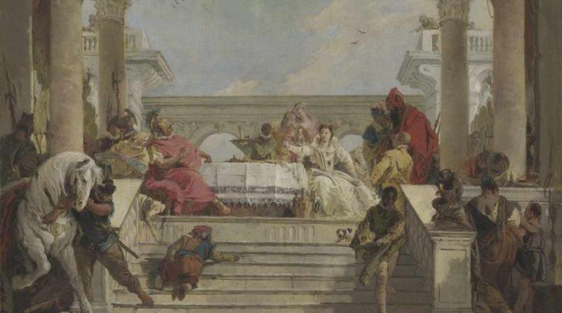 Tiepolo Banchetto di Antonio e Cleopatra